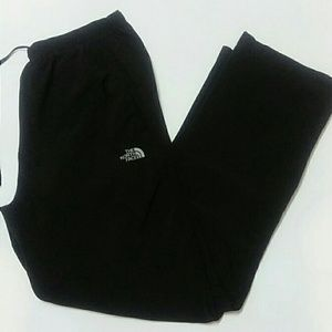 The North Face black track pants